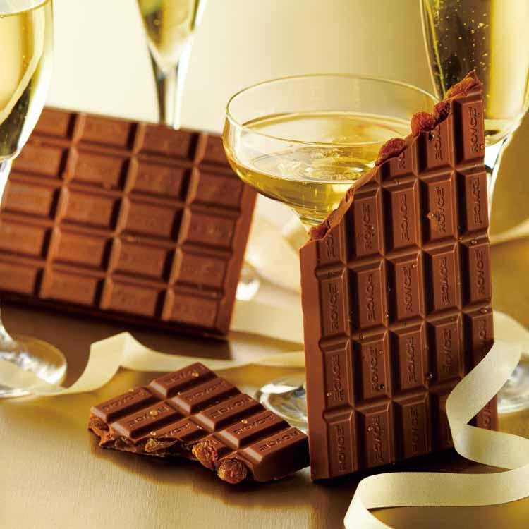 板チョコレート[シャンパンレーズン]